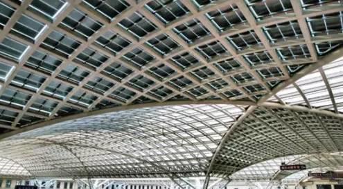 国内最美的8大光伏火车站 你去过几个?