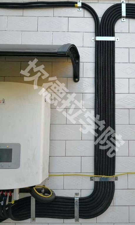 户用光伏穿线必须用PVC管?