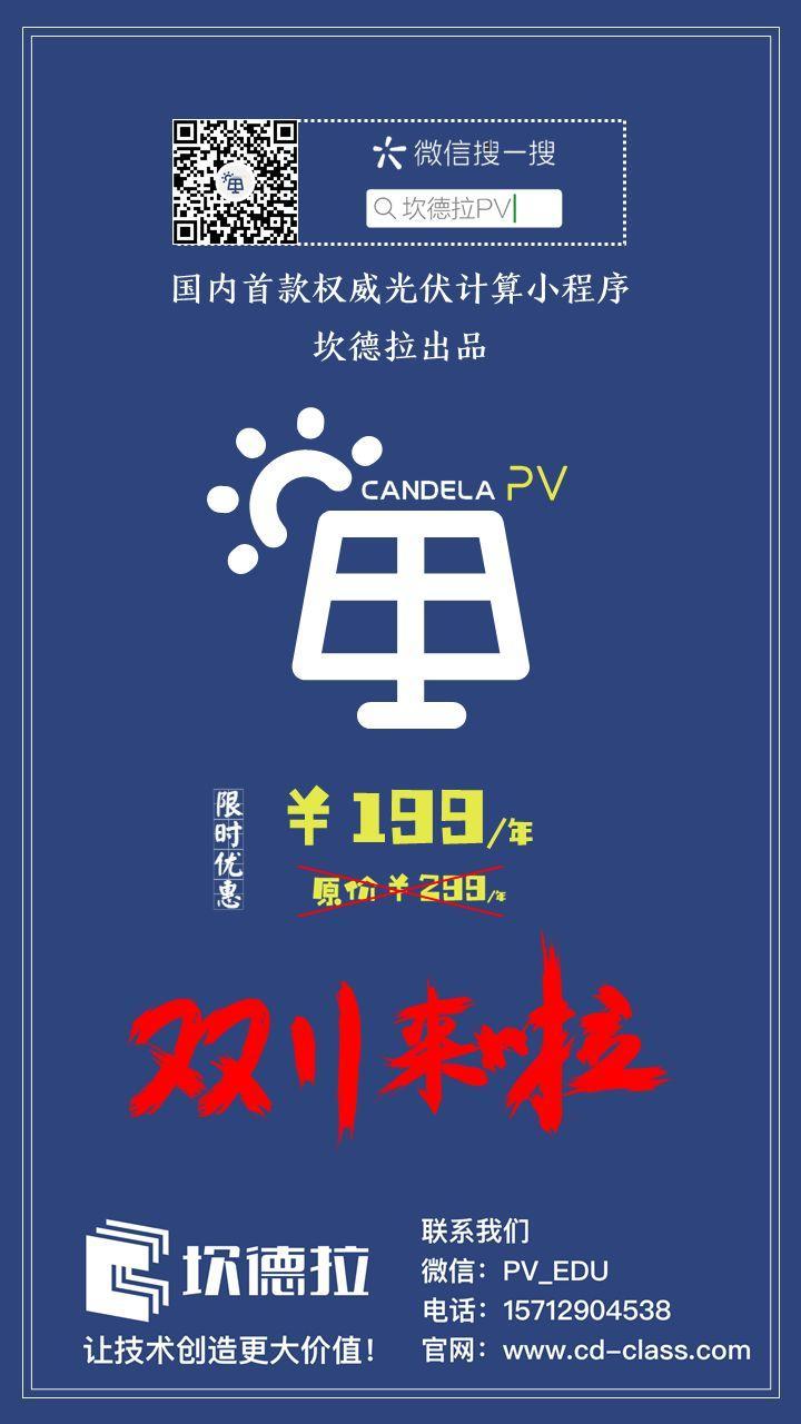 坎德拉PV 重磅发布!