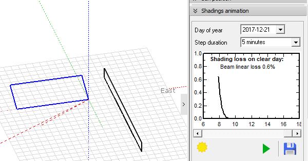 梯田地形,方阵的东西向间距如何计算?